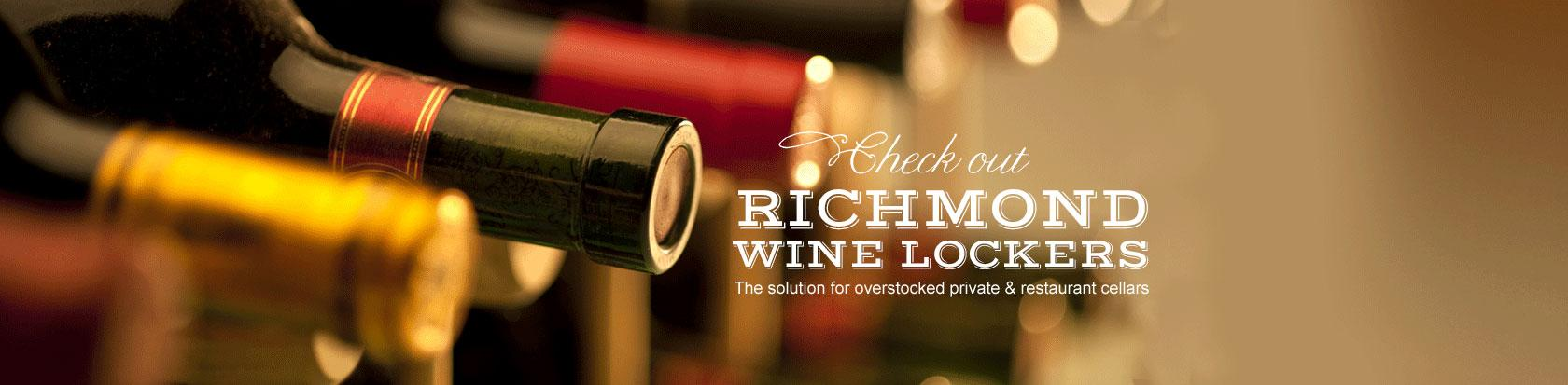 richmond wine lockers